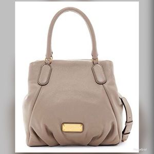 Marc by Marc Jacobs Q Fran leather tote in cement